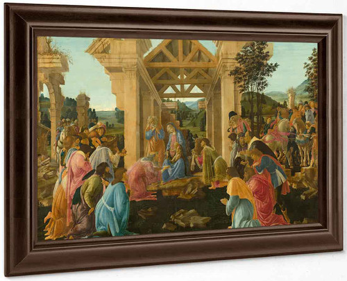 Adoration Of The Magi2 By Sandro Botticelli