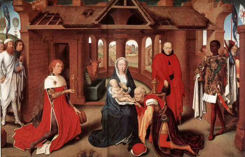 Adoration Of The Magi By Hans Memling