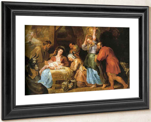 Adoration Of The Shepherds By Peter Paul Rubens
