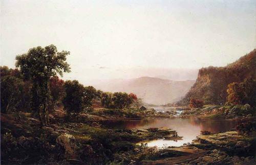 Afterglow, Massanutten Mountains By William Louis Sonntag