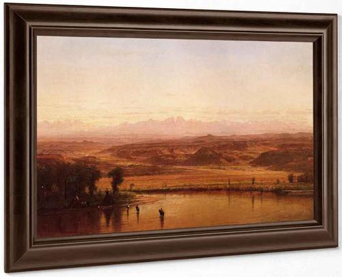 Along The Platte River, Colorado By Thomas Worthington Whittredge