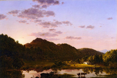 American Landscape By Frederic Edwin Church By Frederic Edwin Church