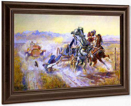 An Old Story By Charles Marion Russell