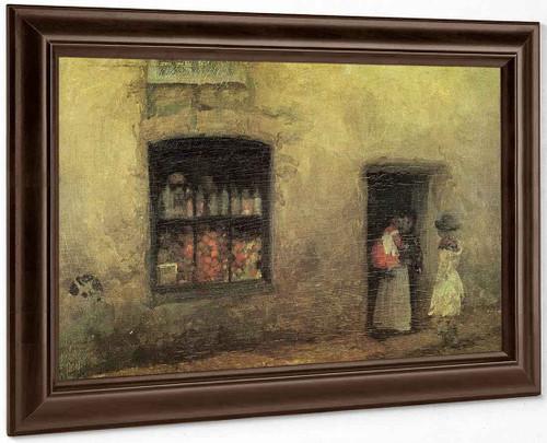 An Orange Note Sweet Shop By James Abbott Mcneill Whistler American 1834 1903