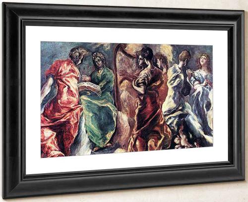 Angelic Concert By El Greco By El Greco