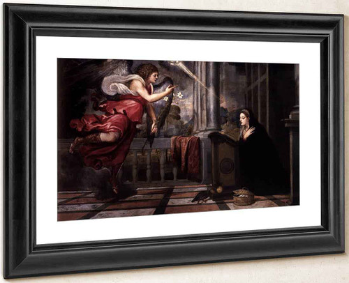 Annunciation By Titian