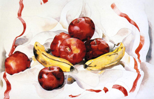 Apples And Bananas By Charles Demuth By Charles Demuth