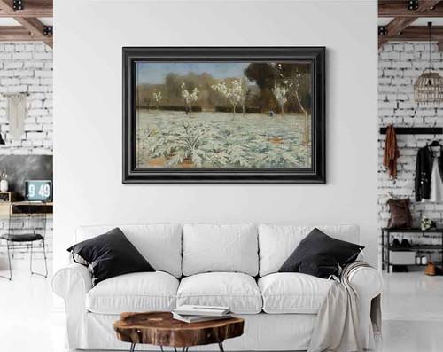 Artichokes, Hyeres By Norman Garstin