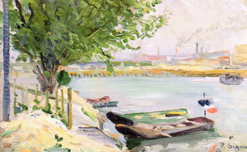 Asnieres By Paul Signac