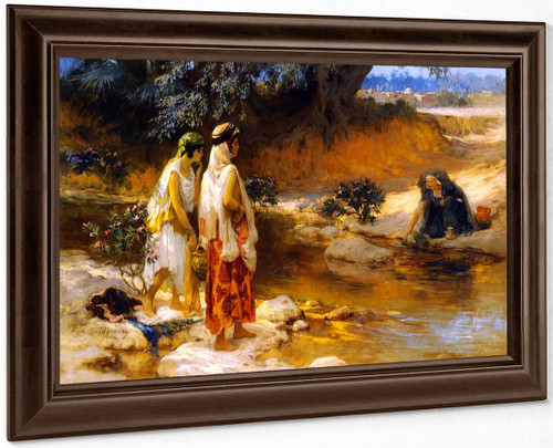 At The Water's Edge By Frederick Arthur Bridgman