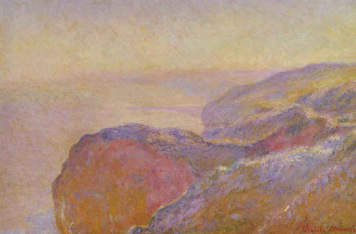 At Val Saint Nicolas Near Dieppe In The Morning By Claude Oscar Monet