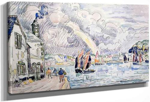 Audierne1 By Paul Signac