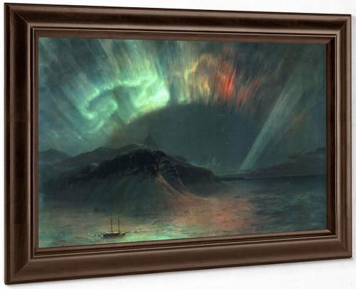 Aurora Borealis By Frederic Edwin Church By Frederic Edwin Church