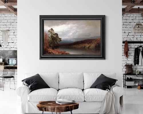Autumn In The Adirondacks By Alexander Helwig Wyant