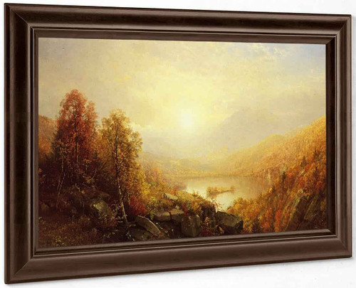 Autumn In The Mountains By William Trost Richards By William Trost Richards