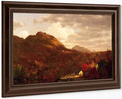 Autumn On The Hudson By Frederic Edwin Church By Frederic Edwin Church