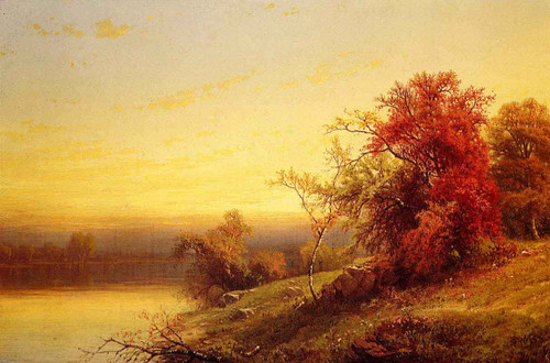 Autumnal Landscape1 By William Mason Brown