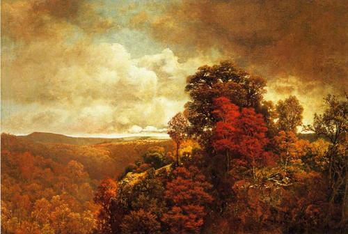 Autumnal Landscape By William Mason Brown
