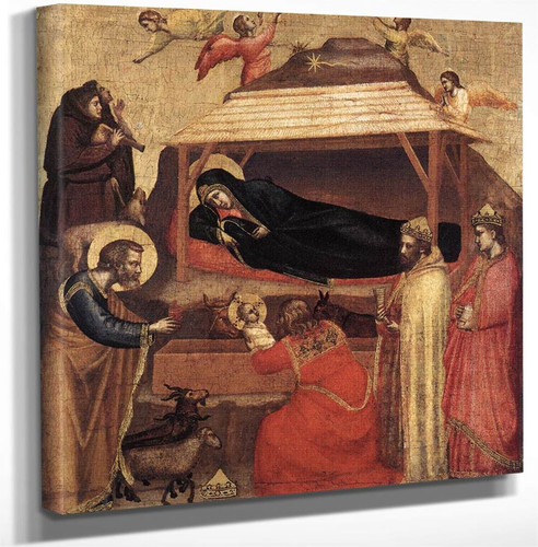 The Epiphany By Giotto Di Bondone Art Reproduction