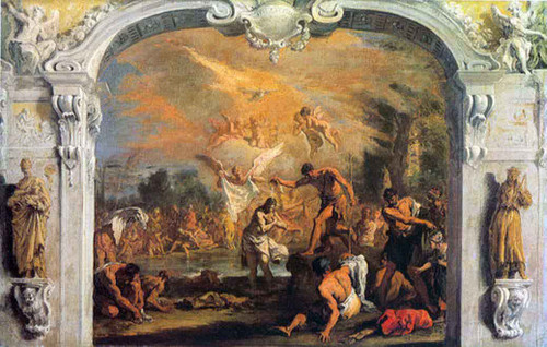 Baptism Of Christ By Sebastiano Ricci