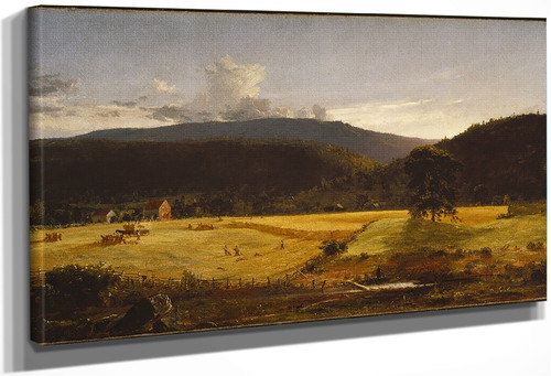 Bareford Mountains, West Milford, New Jersey By Jasper Francis Cropsey By Jasper Francis Cropsey