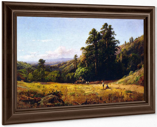 Bay Area Landscape By William Keith