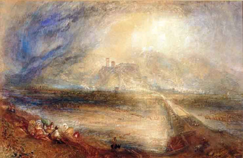Bellinzona From The Road To Locarno By Joseph Mallord William Turner
