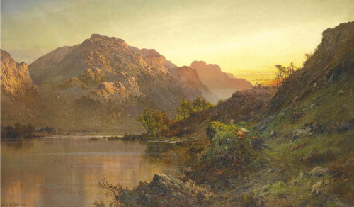 Ben Lomond By Alfred De Breanski, Sr.