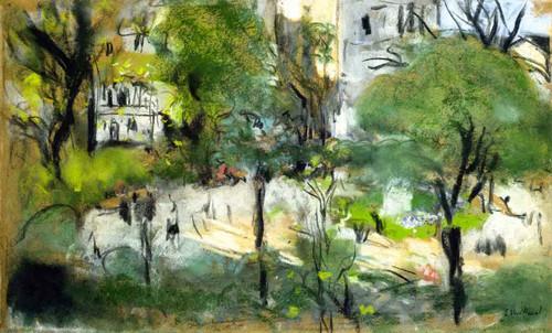 Berlioz Park By Edouard Vuillard