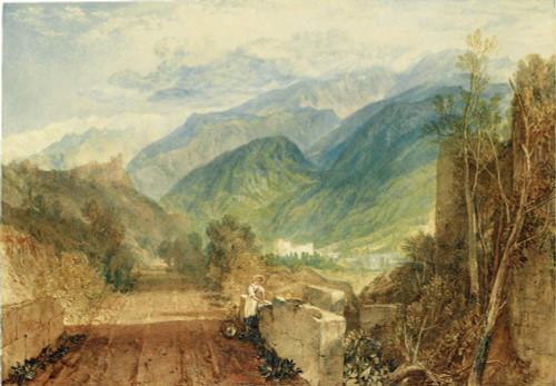 Bonneville, Savoy By Joseph Mallord William Turner
