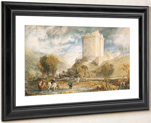 Borthwick Castle By Joseph Mallord William Turner