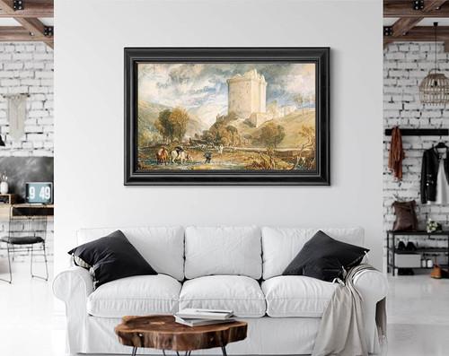 Borthwick Castle By Joseph Mallord William Turner