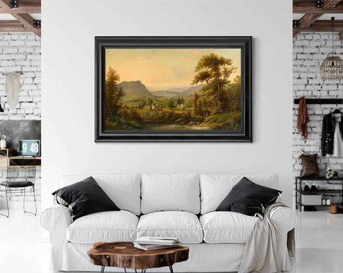 Bucolic Valley By Alexander Helwig Wyant