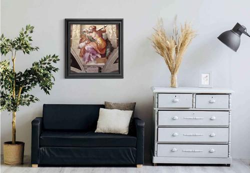 The Libyan Sibyl By Michelangelo Buonarroti Art Reproduction