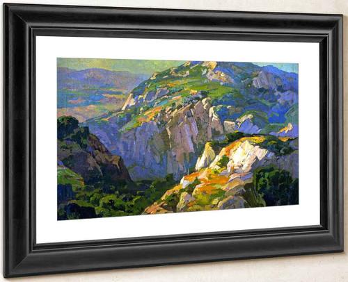 Canyon Green By Franz Bischoff By Franz Bischoff