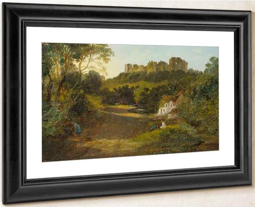Carisbrooke Castle, Isle Of Wight By Francis Danby