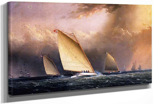 Catboats Racing By James E. Buttersworth