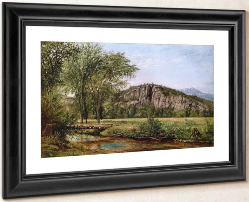 Cathedral Ledge, North Conway, New Hampshire By Louis Remy Mignot
