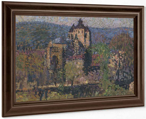 Cathedral Of Cahors By Henri Martin