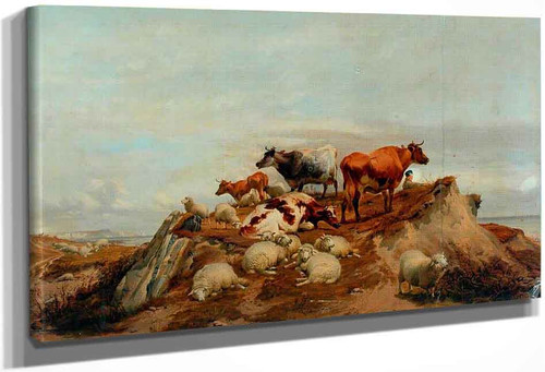 Cattle4 By Thomas Sidney Cooper By Thomas Sidney Cooper