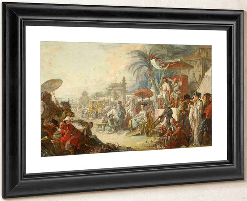 Chinese Fair By Francois Boucher