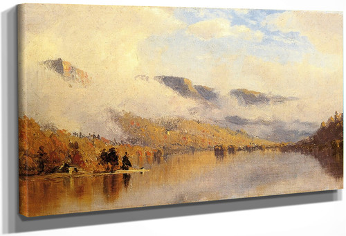 Clearing Storm Over Lake George By Sanford Robinson Gifford