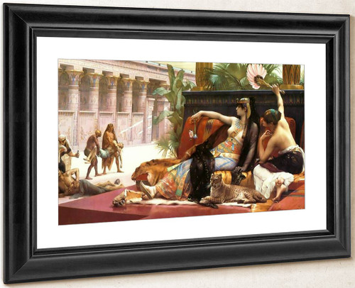 Cleopatra Testing Poisons On Condemned Prisoners By Alexandre Cabanel