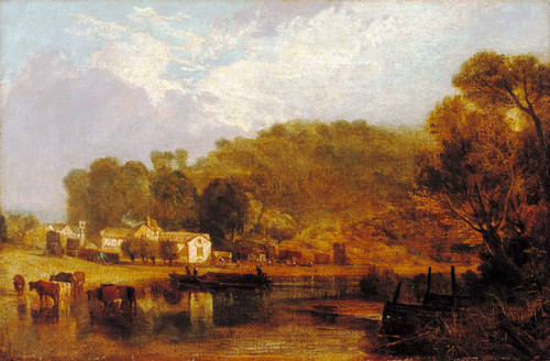 Cliveden On Thames By Joseph Mallord William Turner