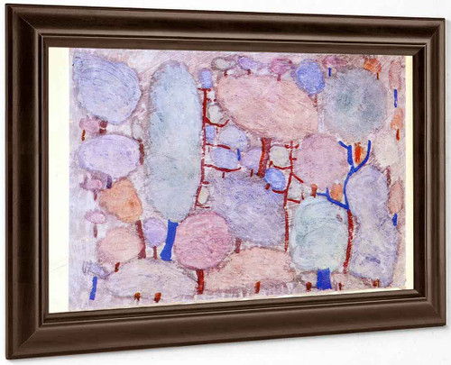 Colorful Forest By Paul Klee
