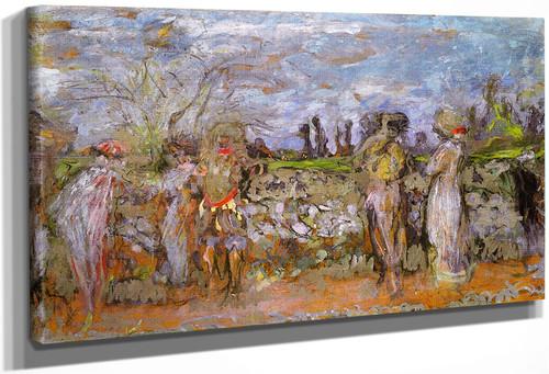 Comedians In The Woods Ii By Edouard Vuillard