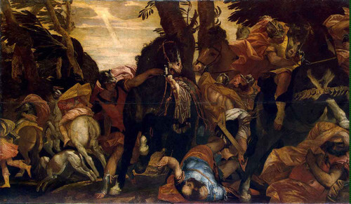 Conversion Of Saul By Paolo Veronese