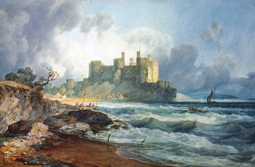 Conway Castle, North Wales1 By Joseph Mallord William Turner