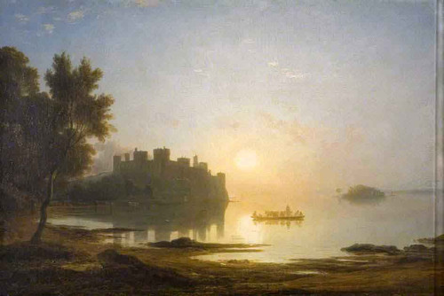 Conway Castle 1 By Francis Danby