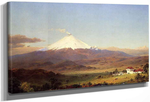Cotopaxi1 By Frederic Edwin Church By Frederic Edwin Church